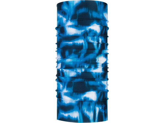 Buff Coolnet UV+ Neckwarmer yule seaport blue